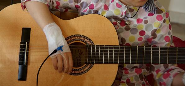 musicoterapia niños con cáncer
